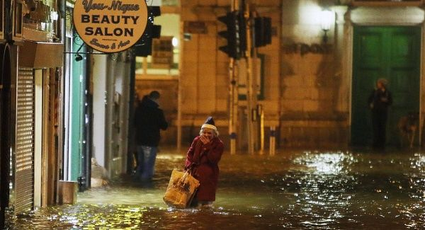 Cork city and towns hit by heavy flooding