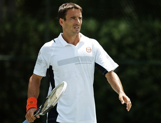 Tommy Robredo for Sergio Tacchini US Open 2014 Collection #SergioTacchini #TommyRobredo #UsOpen