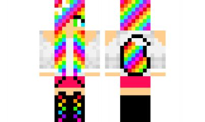 minecraft skin wolf-girl-2 Find it with our new Android Minecraft Skins App: https://play.google.com/store/apps/details?id=the.gecko.girlskins