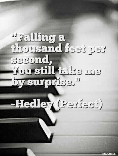 Perfect by Hedley