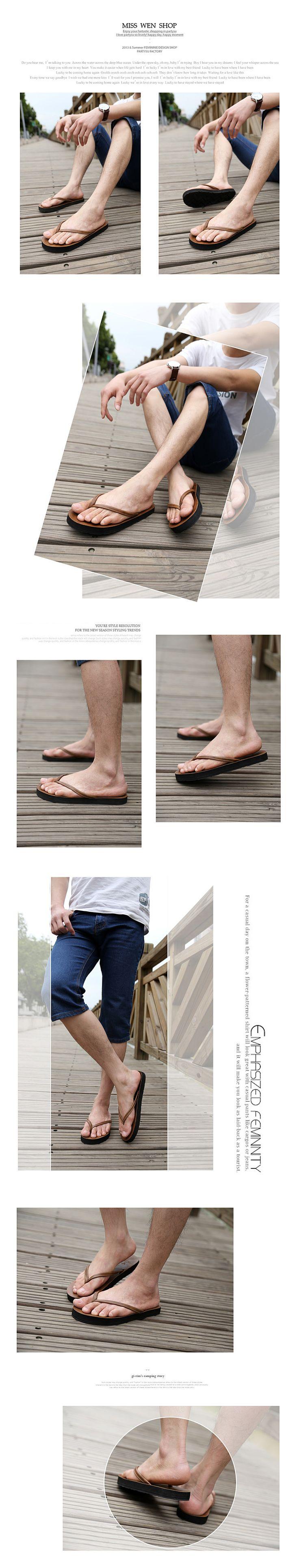 El envío gratuito ascensor hombres de zapatillas de verano transpirables para hombre corriente de marea más tamaño chanclas sandalias de playa en Sandalias de Hombre de Calzado en AliExpress.com | Alibaba Group
