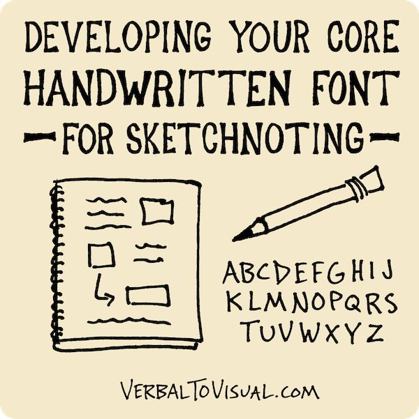 Welcome to the month of June, which I am declaring Handwritten Font Month here at Verbal to Visual! Last month we tackled the building of a visual vocabulary. This month we'll be focusing on the…