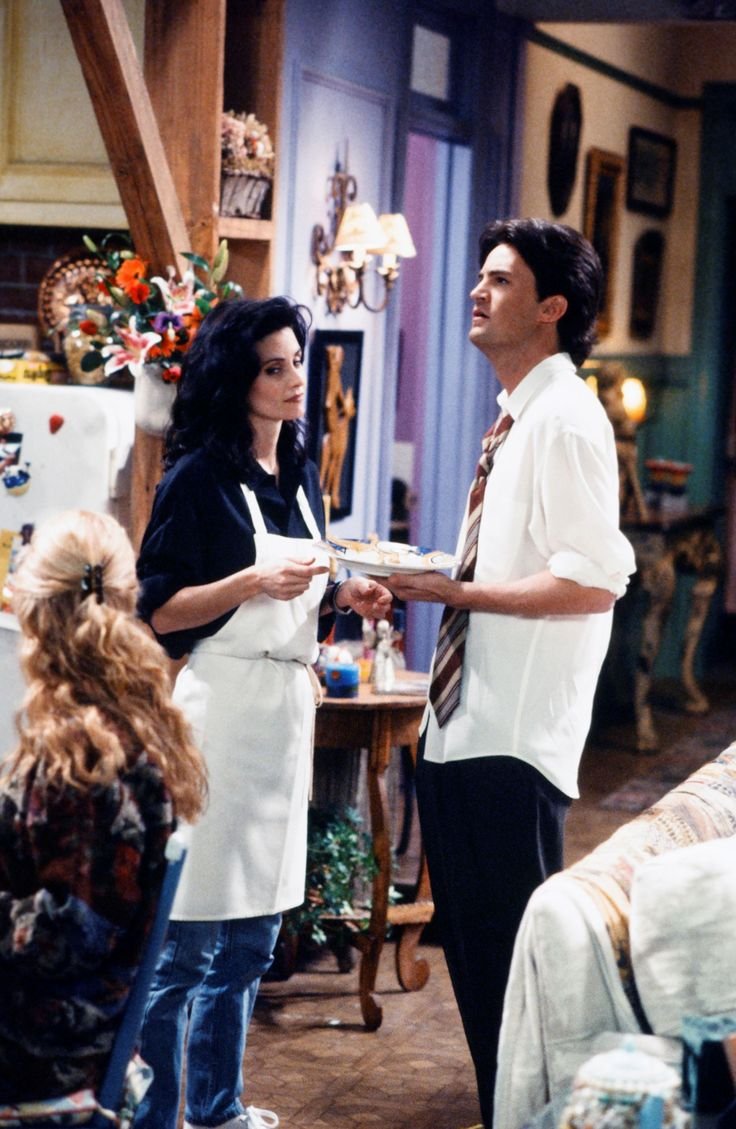 Best TV show of all time. No doubt. Don't question me. I ship Ross and Rachel more but these two were cute