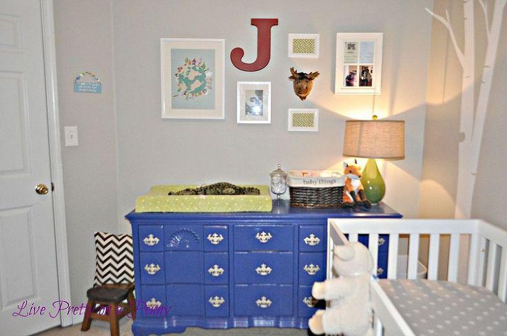 Painted Nursery Dresser :: Hometalk