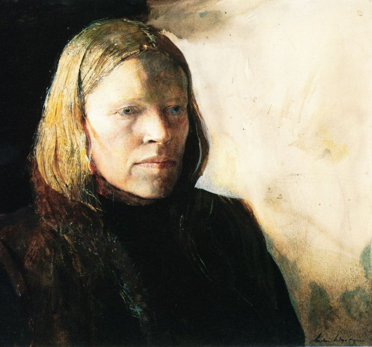 Andrew Wyeth - Page Boy from: Andrew Wyeth: The Helga Pictures