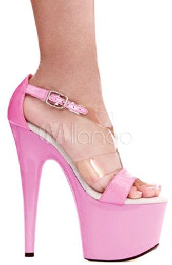#Milanoo.com Ltd          #Sexy Sandals             #Pink #Open #Leather #Sexy #Sandals #Woman          Pink Open Toe PU Leather Sexy Sandals For Woman                               http://www.seapai.com/product.aspx?PID=5730807
