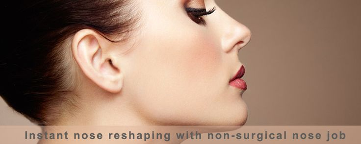 The nose reshaping is no longer a difficult task with non-surgical nose job which gives instant, effective and stunning results with no downtime.