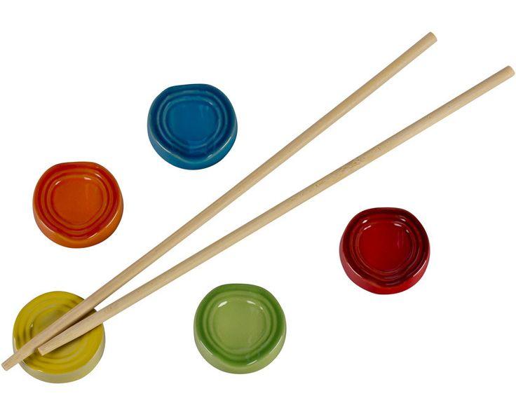Chopstick Rests, Set of 5