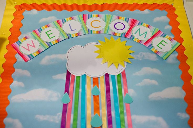 Classroom Decoration Rainbow ~ Rainbow classroom decor preschool room decorating