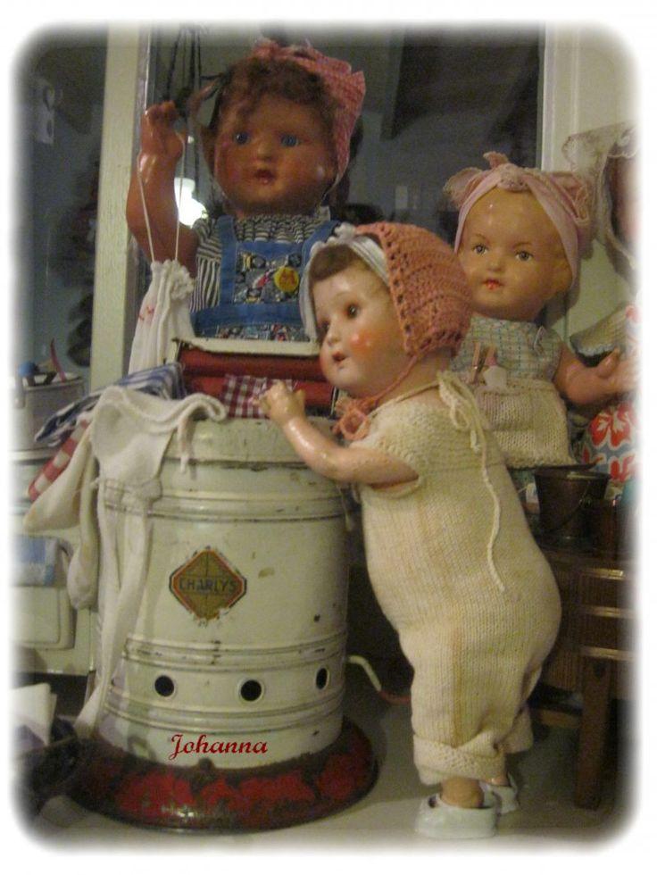 Antieke poppen | Bijjohannatuus.jouwweb.nl