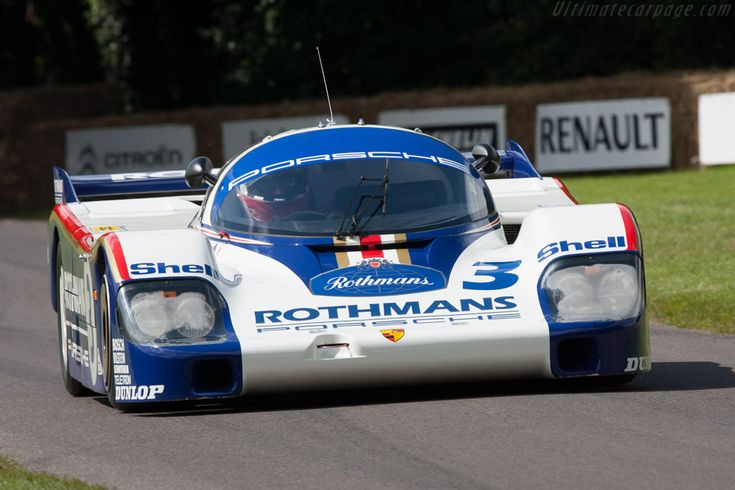 Porsche 956 (Chassis 956-004 - 2012 Goodwood Festival of Speed) High Resolution Image