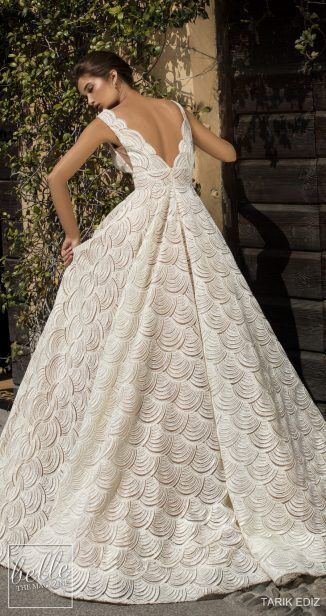 37729596440a Tarik Ediz Wedding Dresses 2019 - The White Bridal Collection - 93631 2