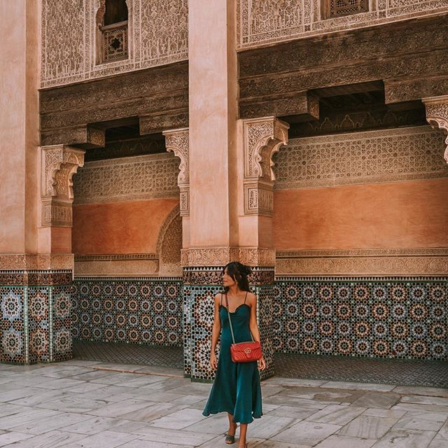 I don't want you to miss anything about my trip to Morocco, and I have no passport yet, so one more of dreamy Marrakech✨#benyoussef #marrakech #morocco