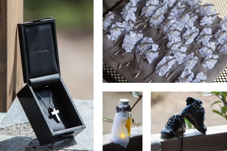 Special details for a rustic country christening by MAZI-Event.