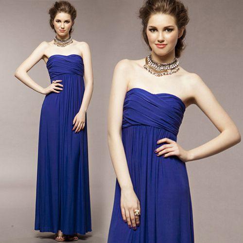 Vestido Formal. Colores: Azul - Morado - Rojo - Naranja. Talla: Única. Precio: $90.000