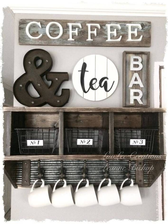 coffee station design ideas