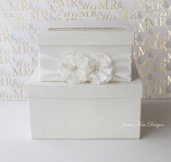 REAYDY TO SHIP matrimonio Box denaro scatola regalo carta