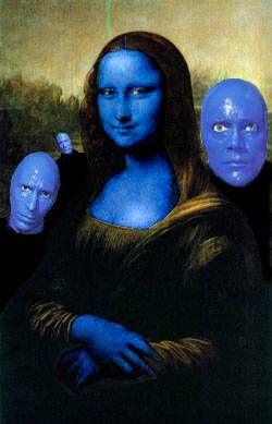 O Blue Man Group