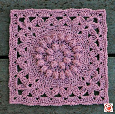 Jam made: Jam made Journal Granny Square Crochet