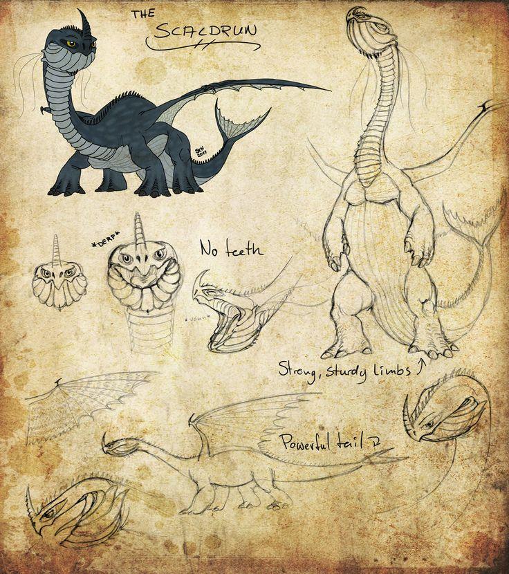 HTTYD Dragon Manual | HTTYD: Scaldrun by Iceway on deviantART