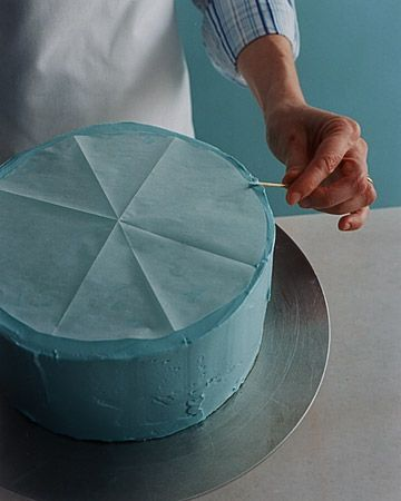 How to Decorate a Birthday Cake. This is Martha Stewart's site. Follow her on Pinterest too.