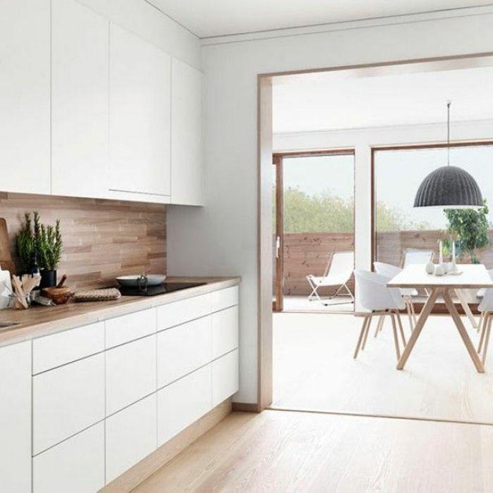 simple variantes pour les cuisines blanches with comment nettoyer une cuisine laque. Black Bedroom Furniture Sets. Home Design Ideas