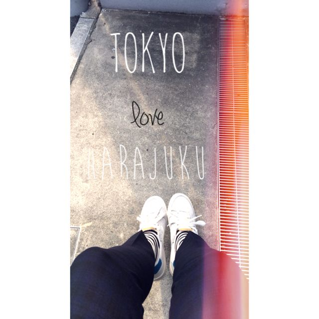 Tokyo/ love/ harajuku