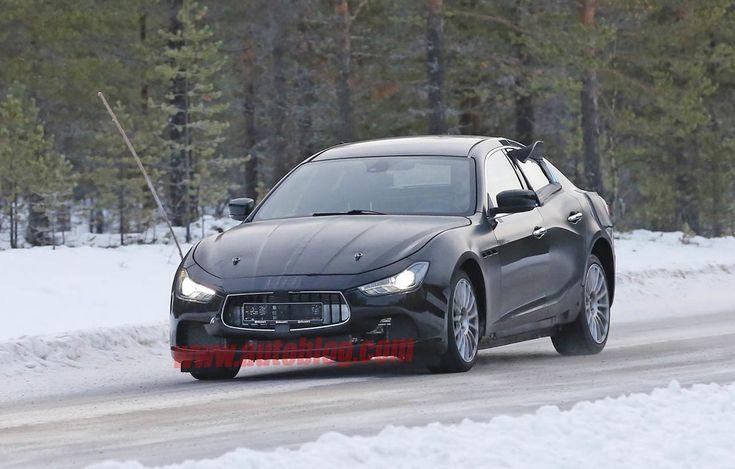 Avvistata in Svezia una Maserati Ghibli cammuffata e modificata.