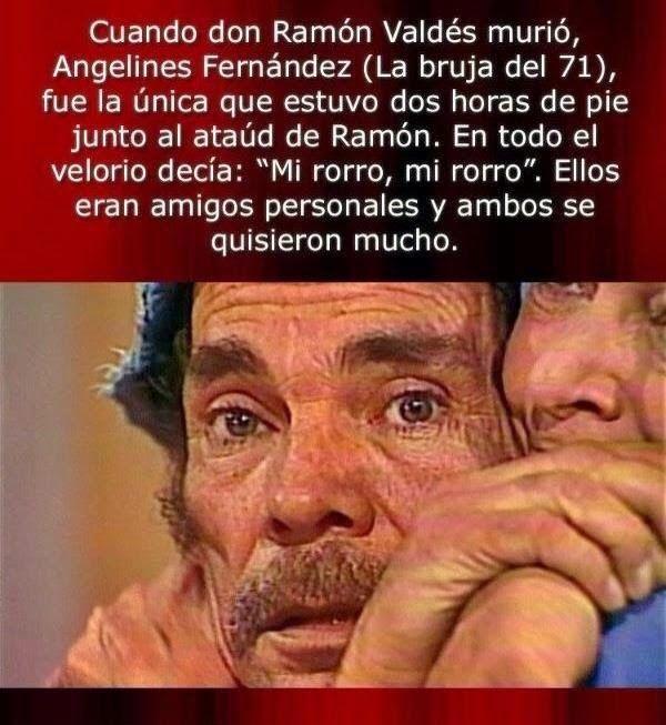 Cuando don Ramon Murio,La bruja del 71 fue la que estuvo ahi con el. ~ Radio Palomo Oficial