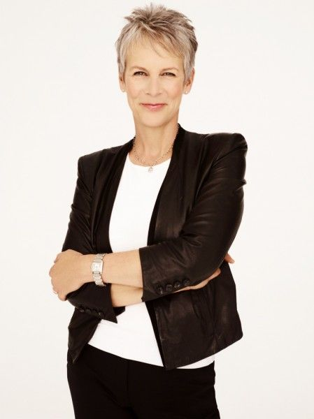 The scream queen Jamie Lee Curtis born November 22, 1958 Actress Author Blogger famous for her role in True Lies (1994) Halloween (1978), The Fog (1980), The Tailor of Panama (2000)  Blue Steel (1990)