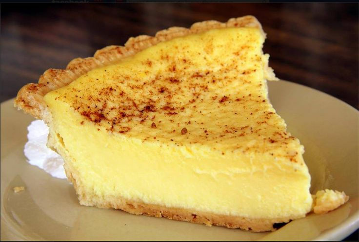 Recipes & Recipes: Old Fashioned Custard Pie