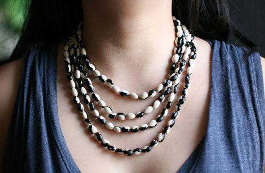 heirloom bean jewelry