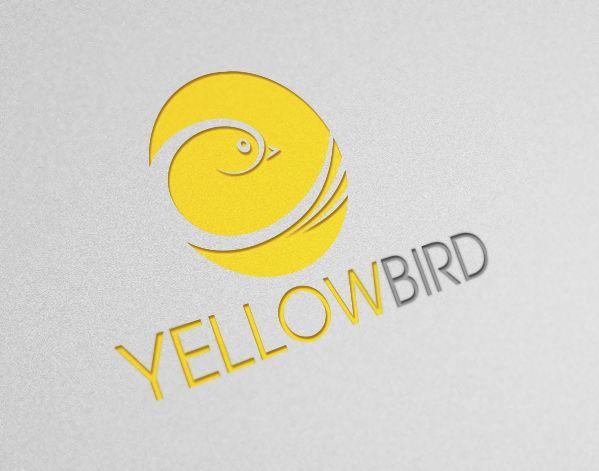 Sold: Premium Yellow Bird Logo for Start Ups!