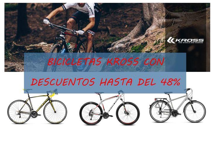 Ofertas bicicletas Kross con descuentos de hasta el 48%. Bicicletas nuevas desde 200 euros
