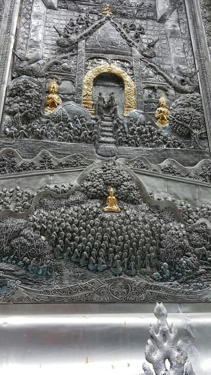Incredible detail  - Wat Sisuphan