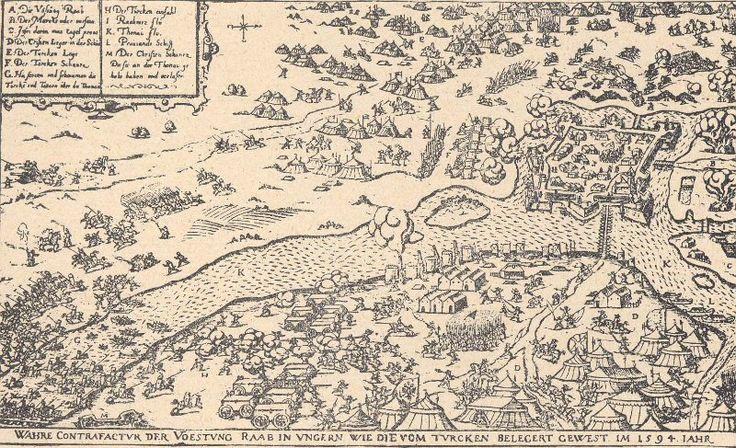 Győr, 1594