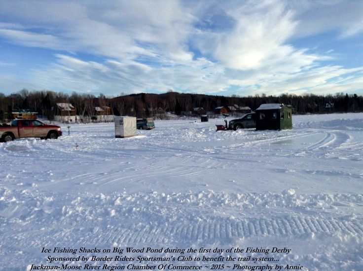 17 best images about winter fun on pinterest snow for Ice fishing maine