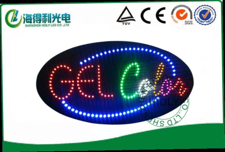 52.00$  Watch now - http://alifql.worldwells.pw/go.php?t=32213770455 - 15*27*1 inch  DC12V beautiful looking led acryic sign /electronic advertising panel/led open sign