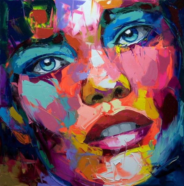 An untitled work by Françoise Nielly I love her portraits - Artist :: Gallery