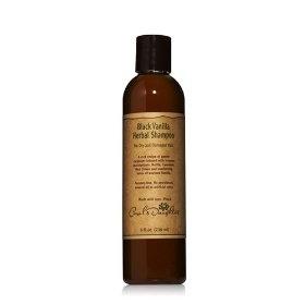 black vanilla moisturizing sulfate free shampoo black