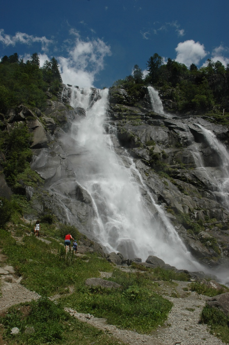 Saent Waterfalls - Cascate del Saent
