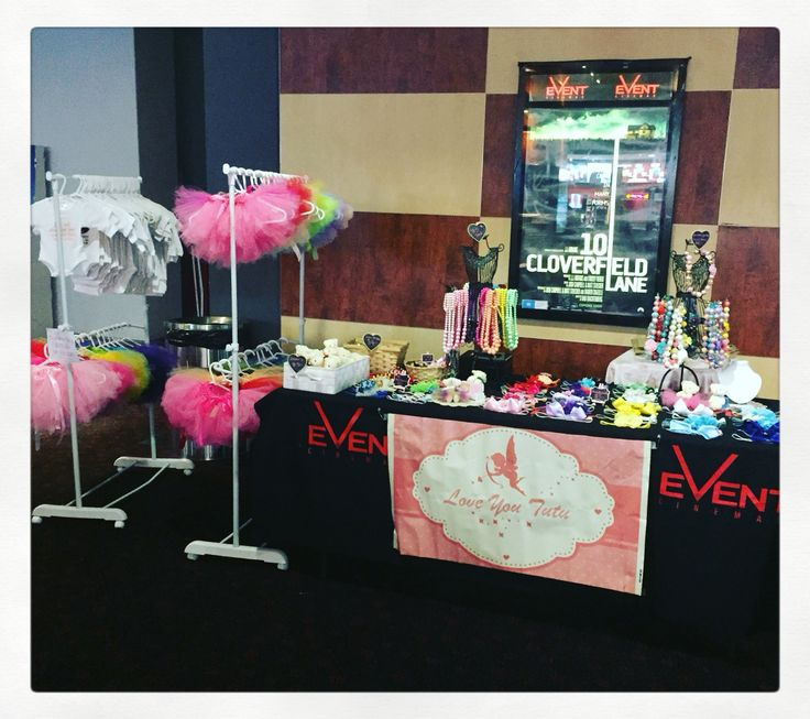 All set up at event cinemas