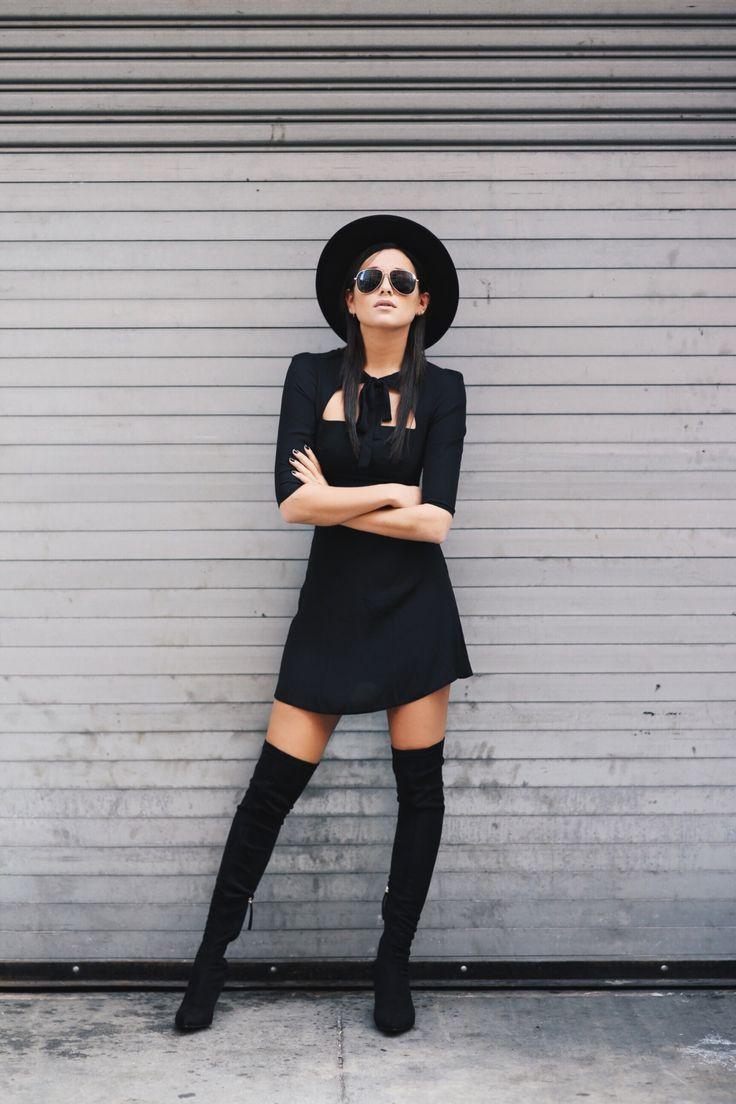 Ecstasy Models — LBD[[MORE]] Wearing: LOVE Dress   Zara Boots ...