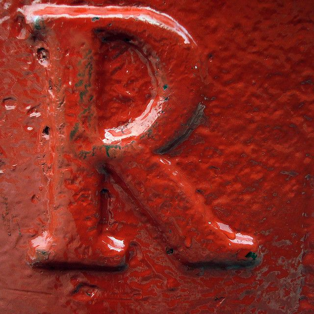 r is for red: