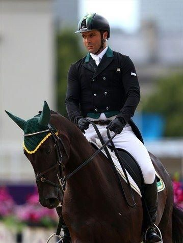 HARING WITH YOU THIS GREAT PHOTO WE RECEIVED with this message:  Olympic Rider Eventing - Ruy Fonseca - Brazil at London Olympic Games by Ruy Fonseca  Thank you ♥!