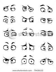 Great range of cartoon eyes