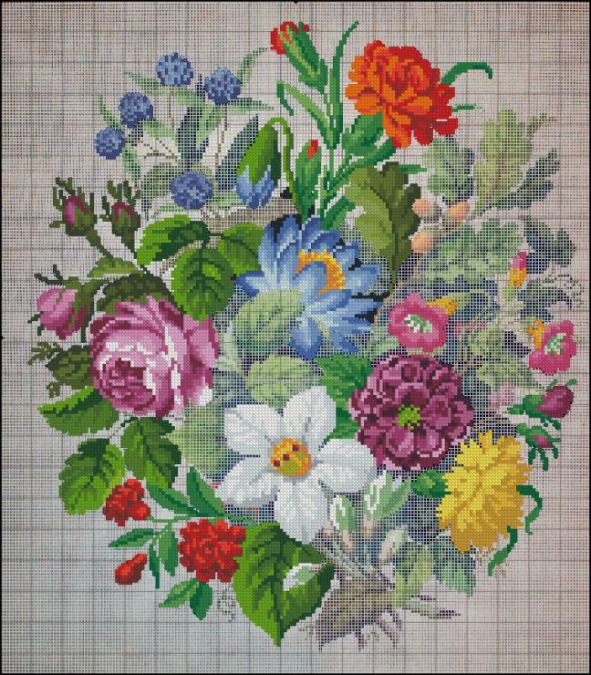 Gallery.ru / Фото #1 - Старинная вышивка. В работе - s1a2v3o4l5