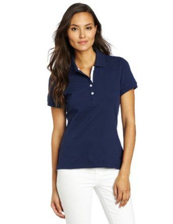 Dockers Women's The Polo, Medieval Blue, X-Large Dockers. $29.99