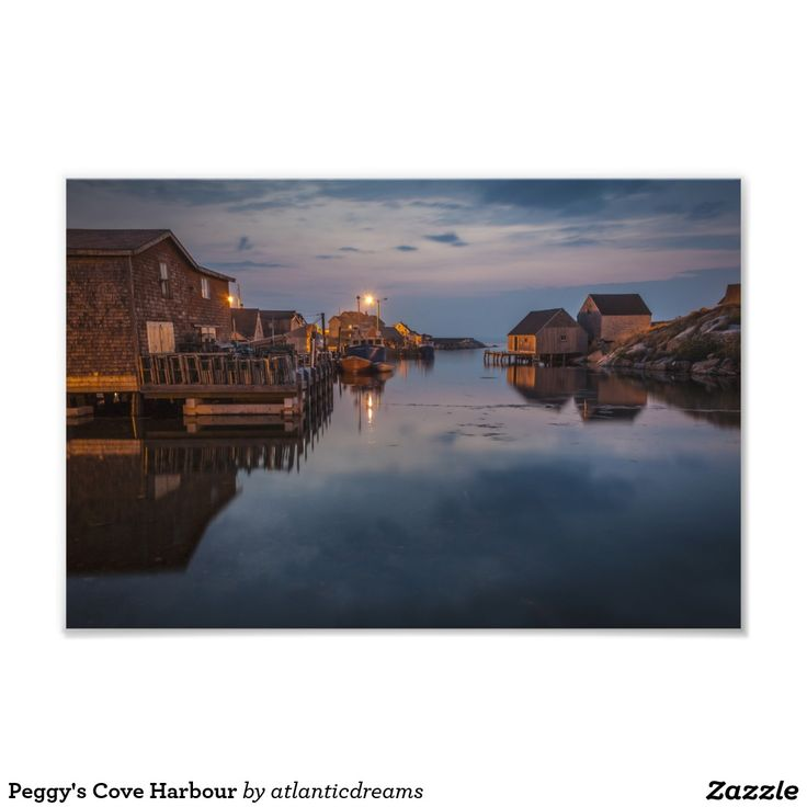 Peggy's Cove Harbour Photo Print