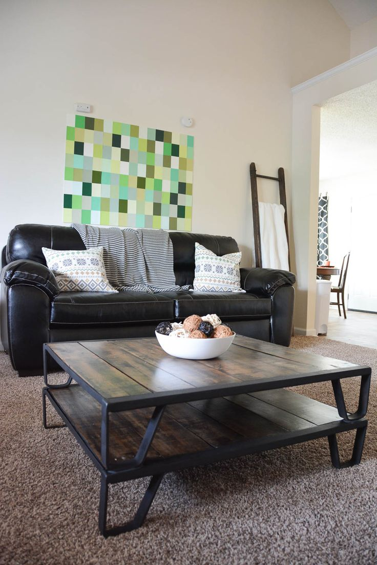 Habitat for Humanity House REVEAL from #GMCHTA // Living Room